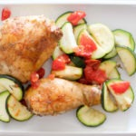 Easy Balsamic Baked Chicken Recipe With Zucchini
