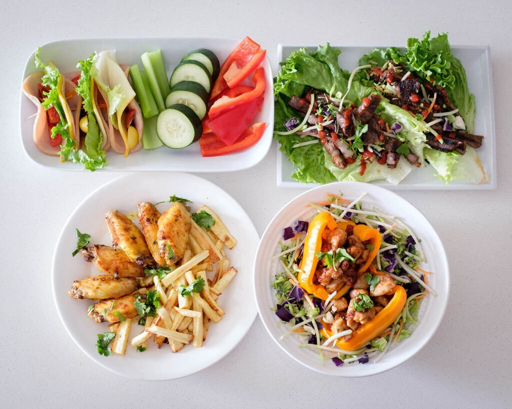 meal plan dishes