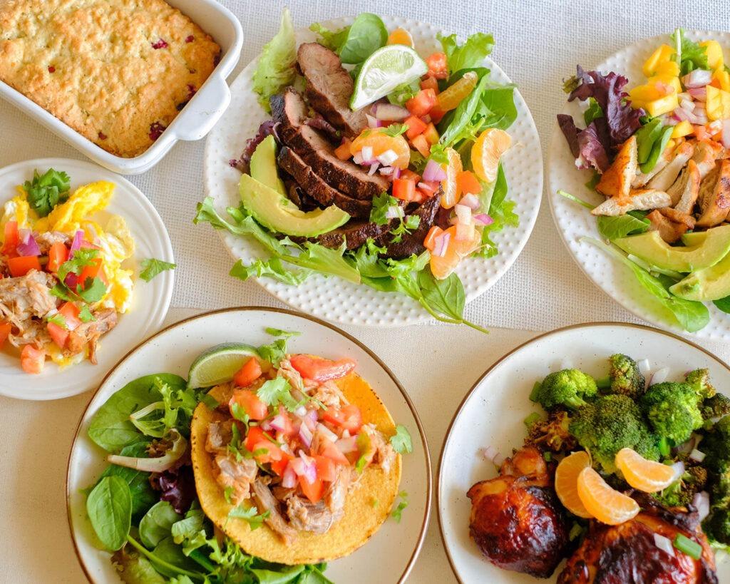 Weekly Meal Plan for the Week of November 30, 2020