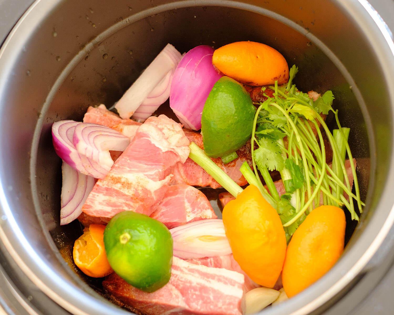 instant pot ingredients