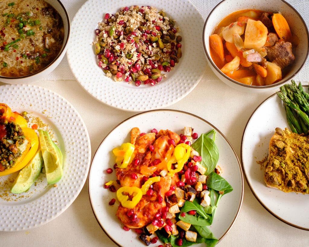 Weekly Meal Plan for the Week of December 7, 2020