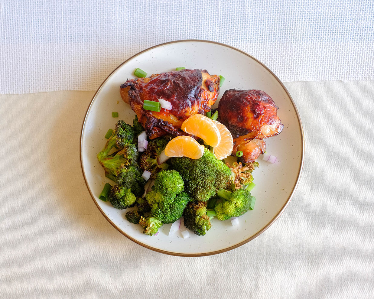 air fryer broccoli and chicken
