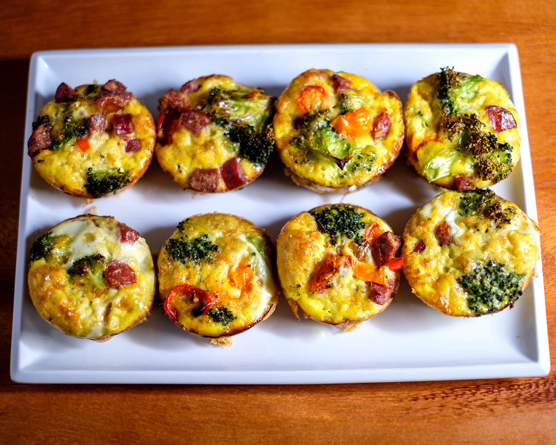 broccoli egg muffins