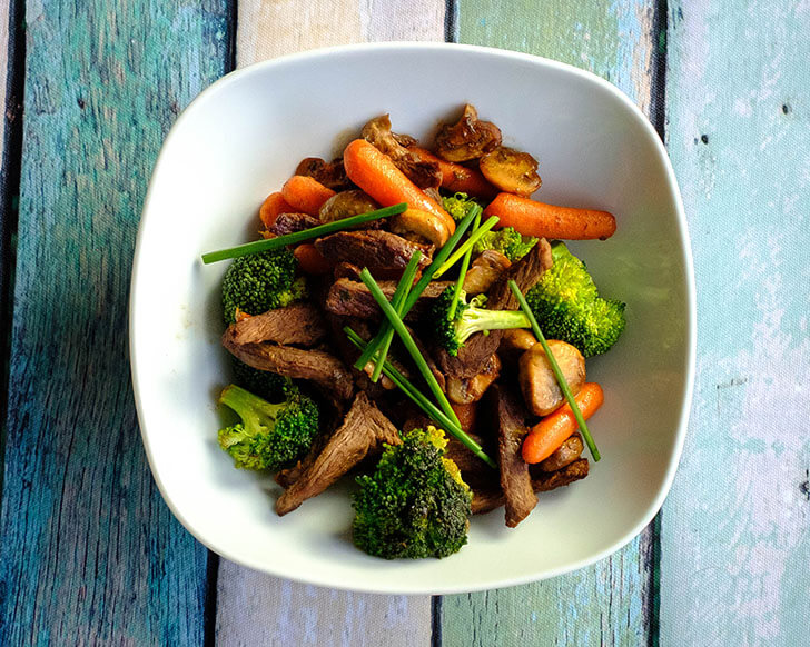 broccoli beef stir fry
