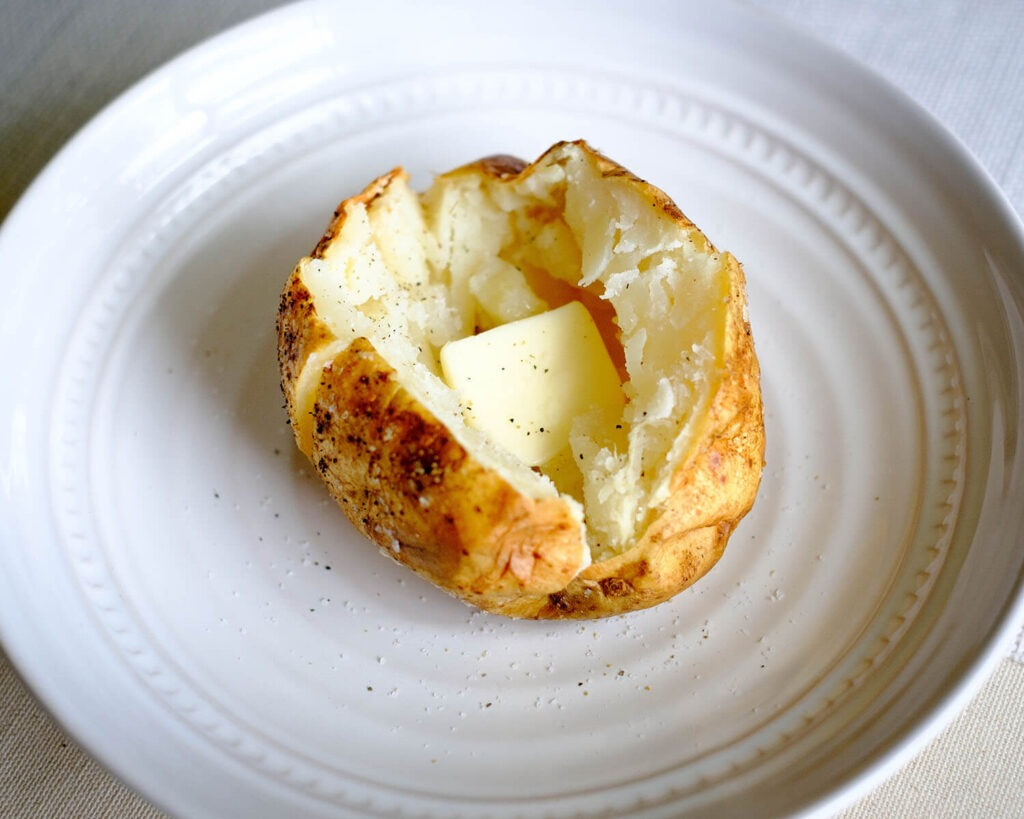 Learn to Bake a Potato