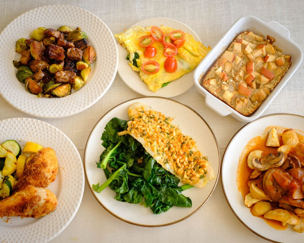Weekly Meal Plan for the Week of February 15, 2021