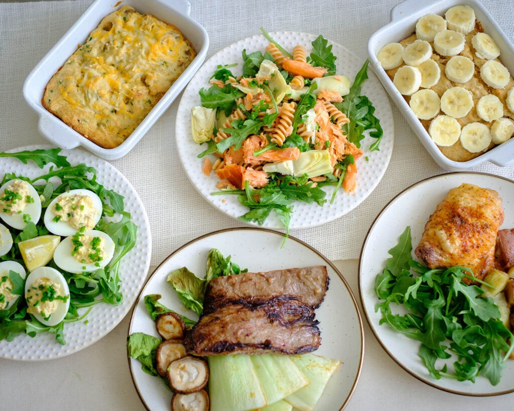 Weekly Meal Plan for the Week of February 22, 2021