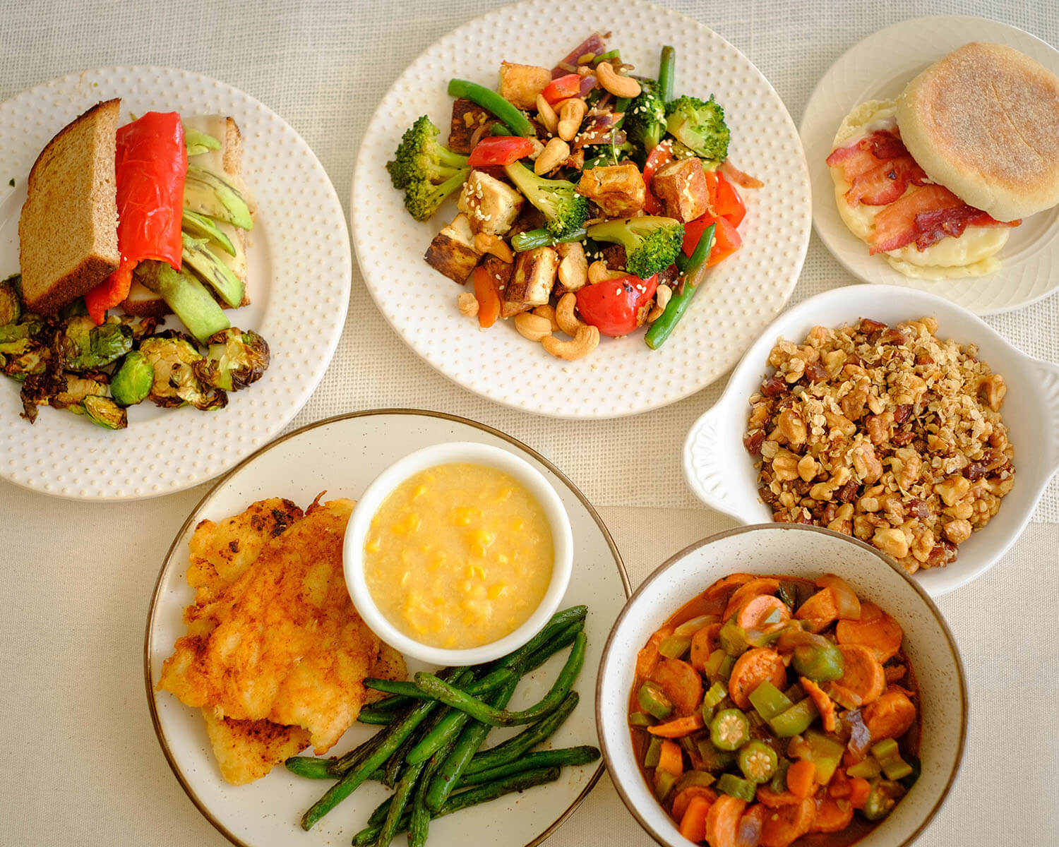 Weekly Meal Plan for the Week of March 01, 2021