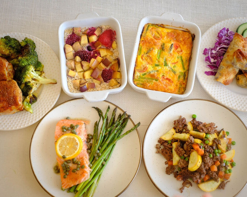 Weekly Meal Plan for the Week of March 22, 2021